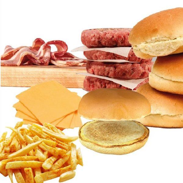 Kit Burger em Casa + Fritas – Bull Prime | Só para Curitiba