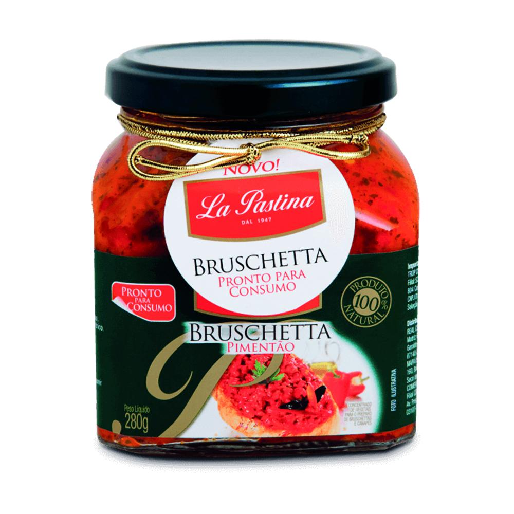 Bruschetta Pimentão – 280G – La Pastina
