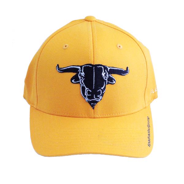 Boné Bull Prime Amarelo flexfit