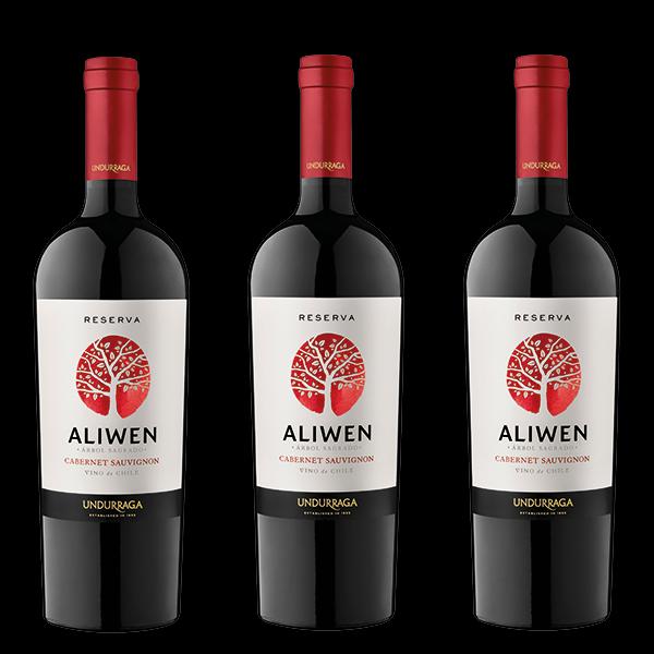 Combo Aliwen Cabernet Sauvignon